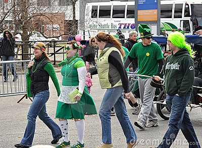 St. Patrick s Day Parade Ottawa Editorial Image