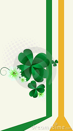 St.Patrick s Day post card