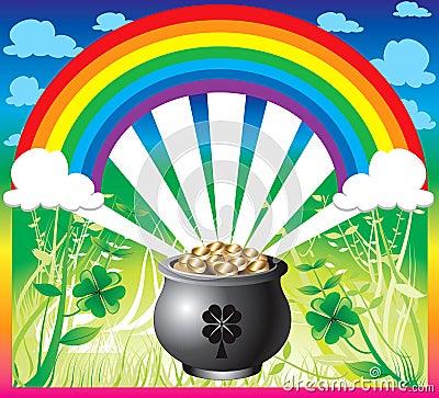 St. Patrick s Day Rainbow