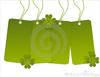 St. patrick s day sale tags