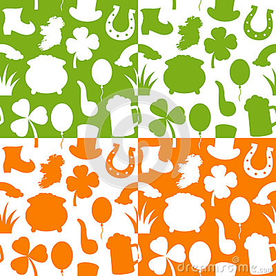 St. Patrick s Day Seamless Patterns