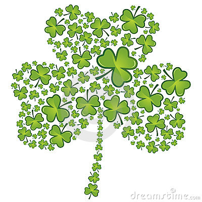 St Patrick s day shamrock pattern
