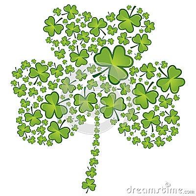 Free St Patrick S Day Shamrock Pattern Stock Image - 8134271
