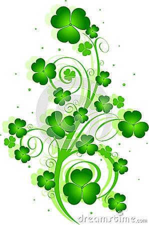 St. Patrick s Day swirl