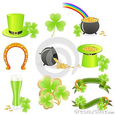 St. Patrick s Day symbols