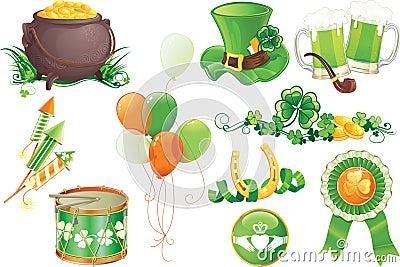 St.Patrick s Day symbols