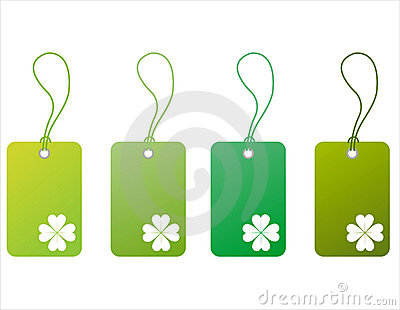 St. patrick s day tags