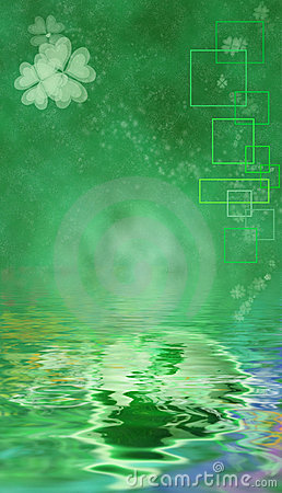 St. Patrick s Day Themed Background