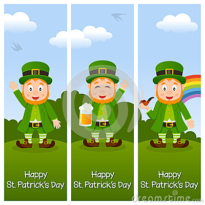 St. Patrick s Day Vertical Banners