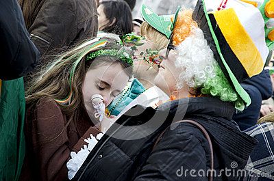Saint Patrick s Day in Bucharest 12 Editorial Photography