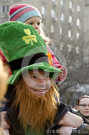 Saint Patricks Day in Bucharest 10 Editorial Photo