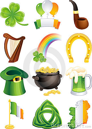 Free St. Patrick S Icon Stock Images - 8128354
