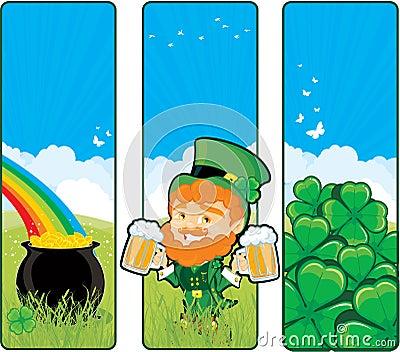 St. Patricks banners