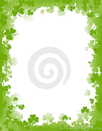 Free St. Patricks Day Background / Border Royalty Free Stock Photo - 4509955