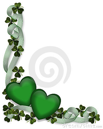 Free St Patricks Day Background Border Royalty Free Stock Photo - 7206775