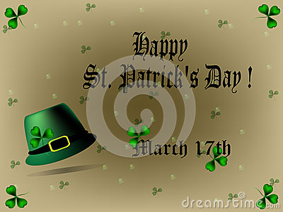 St. Patricks Day background/card