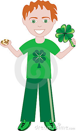 St Patricks Day Boy