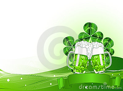 St. Patricks Day Celebration Background