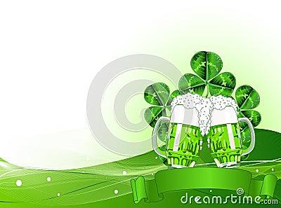 St. Patricks Day Celebration Background