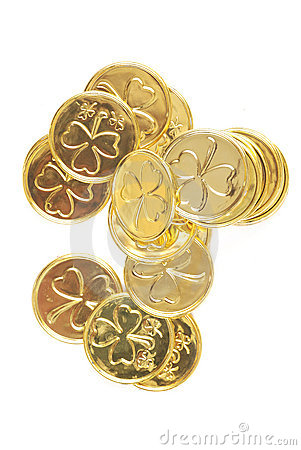St patricks day coins