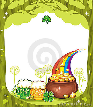 Free St. Patricks Day Frame Royalty Free Stock Images - 13055959