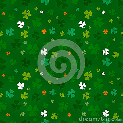 St. Patricks Day pattern