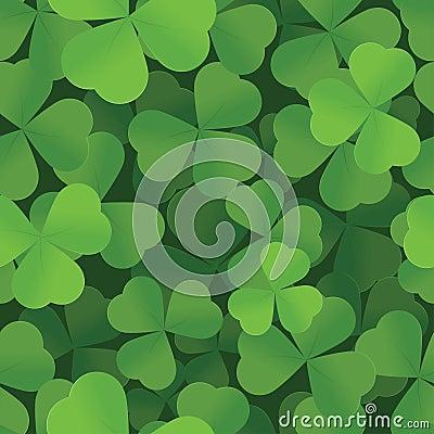Free St. Patricks Day Shamrock Seamless Background Stock Photos - 28319163