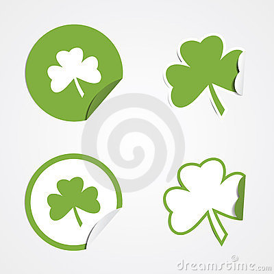St Patricks Day Stickers