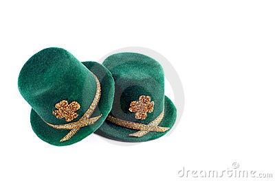 St. Patricks Day Top Hats
