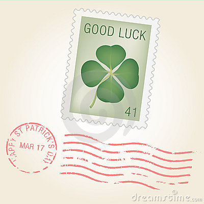 St Patty Stamp