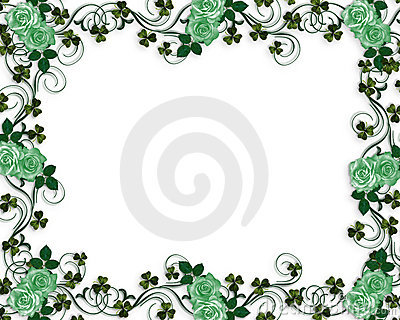 Irish roses wedding border