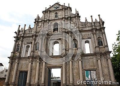 St. Paul�s Church Ruins Macau