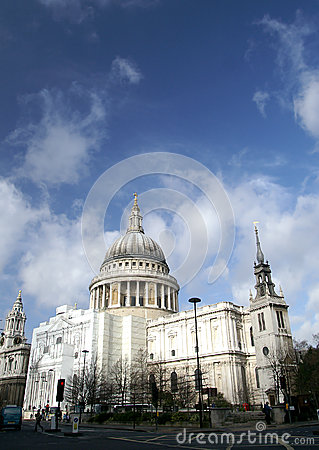 St. Paul Cathedral in London, UK