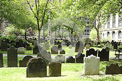 St Paul Church cemetery Editorial Image