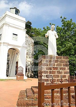 Free St Paul Church, Malacca, Malaysia Stock Photos - 21494953