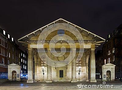 St. Paul Church at night