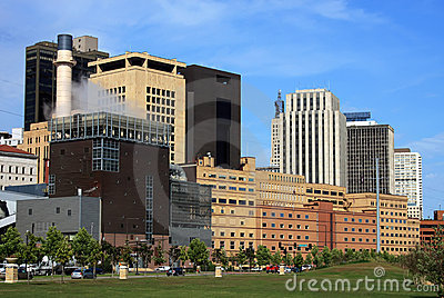 St. Paul Minnesota Cityscape