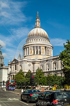 St Paul s Cathedral Editorial Stock Photo
