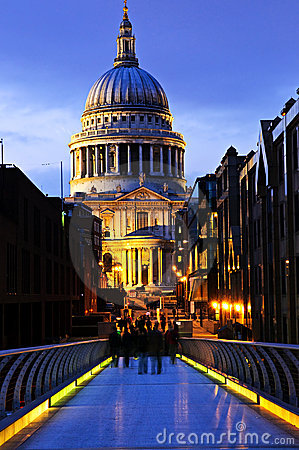 St. Paul s Cathedral  from Millennium Bridge
