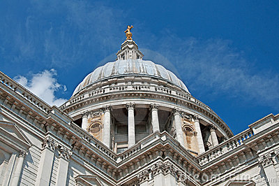 St Paul s Cathedral on a Sunny Day