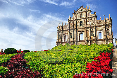 St. Paul s Ruins in Macau