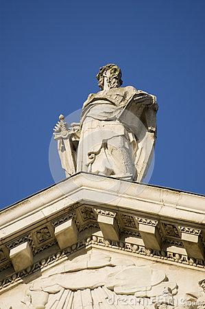 St Paul Statue, City of London