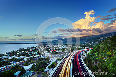 St Pauls Bay on Reunion Island