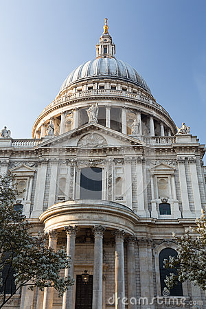 Free St Pauls Cathedral Church London England Stock Photo - 31319100