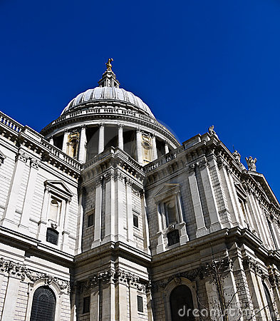 Free St Pauls Cathedral In London , UK Royalty Free Stock Image - 20020536