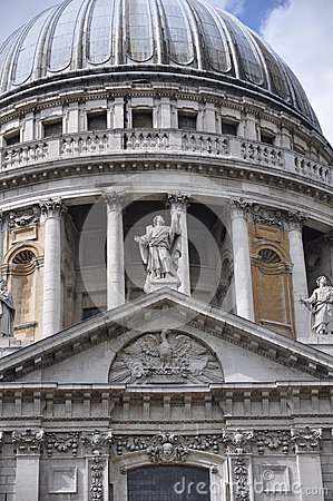 St. Pauls Cathedral in London England