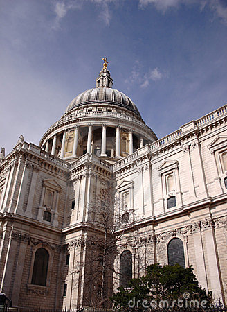 St Pauls Cathedral, London, United Kingdom Stock Photography - Image: 23516732