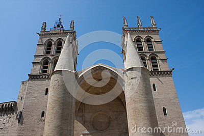 St. Peter cathedral in Montpellier
