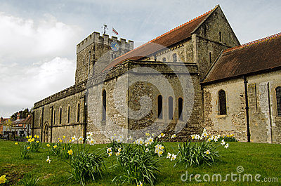 St Peter s Church in the Spring, Petersfield