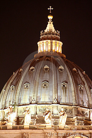 St. Peter s Dome / Night